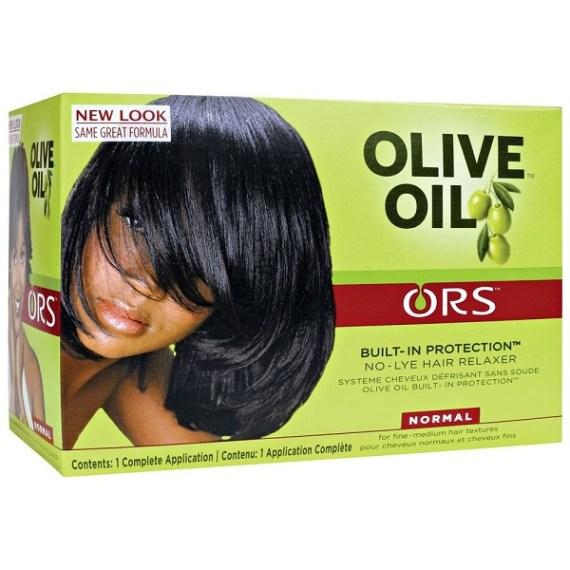 ORS - No-Lye Hair relaxer with olive oil - N #Afritibi.com