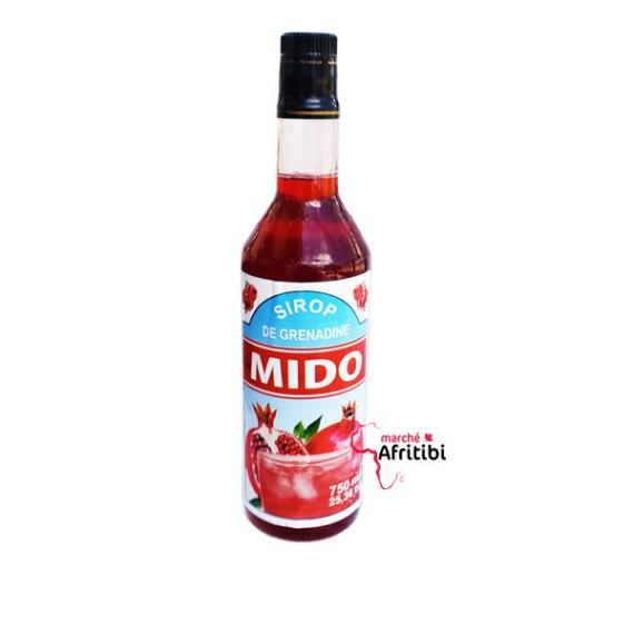 Grenadine Syrup 750ML - Mido