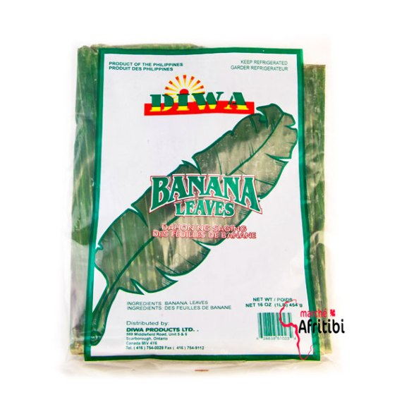 Feuille banane plantain