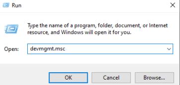 devmgmt msc windows 10