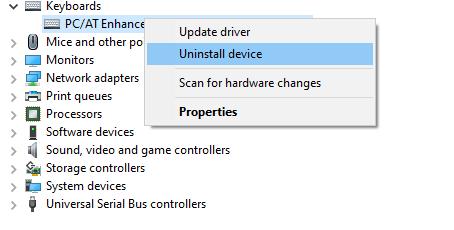 uninstall-keyboard-driver