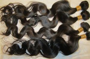 European Human Hair Weave Natural Deep Wave