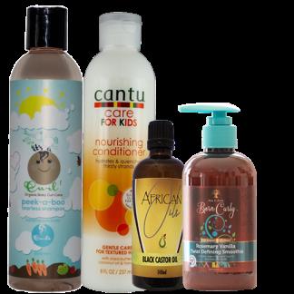 Shampoo, Conditioner. Oil