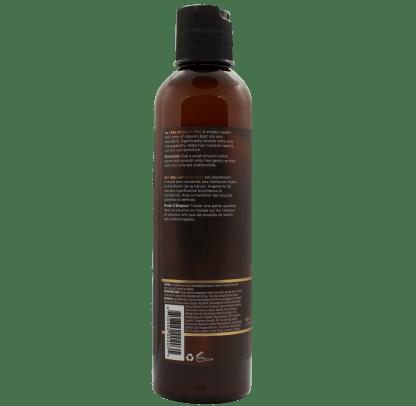 Rückseite der Flasche von As I Am Haarmilch