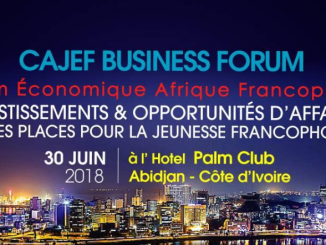 image cajef businness Forum economique