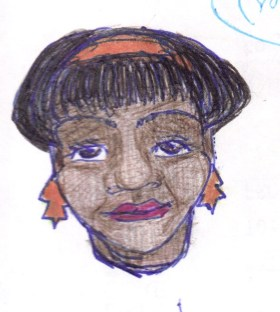 Ball point pen sketch 1992