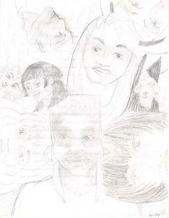 Multi-sketch from October 1993