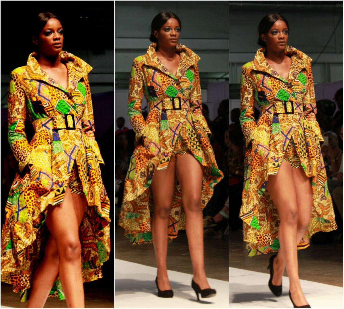 Ankara Shorts With Long Jacket Elegant In Prints Afrocosmopolitan