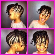 coiffures pour petites filles