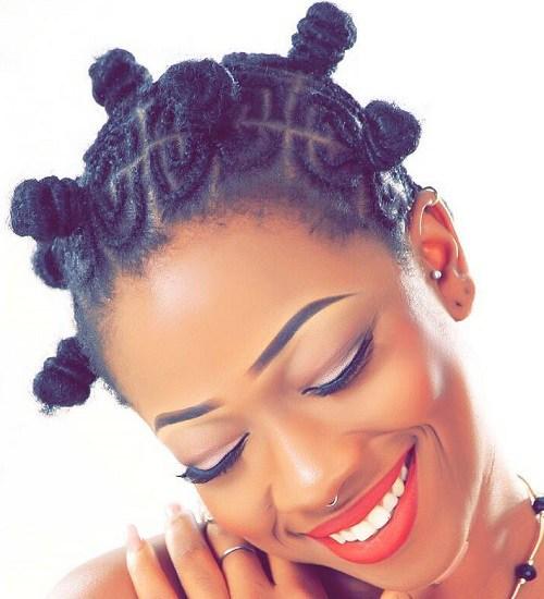 Bantu Knots 12 Beautiful Black Women In Bantu Hairstyles