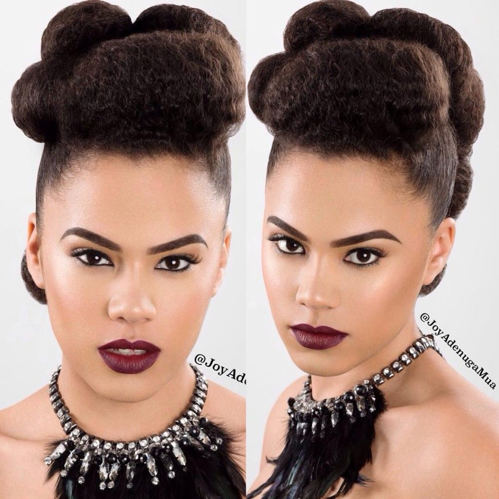Afro Hair 4 Ideas For Natural Wedding Hairstyles For Women
