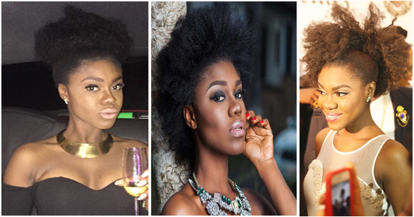 Becca 10 Natural Hairstyles Of The Ghanaian Singer Afroculture Net