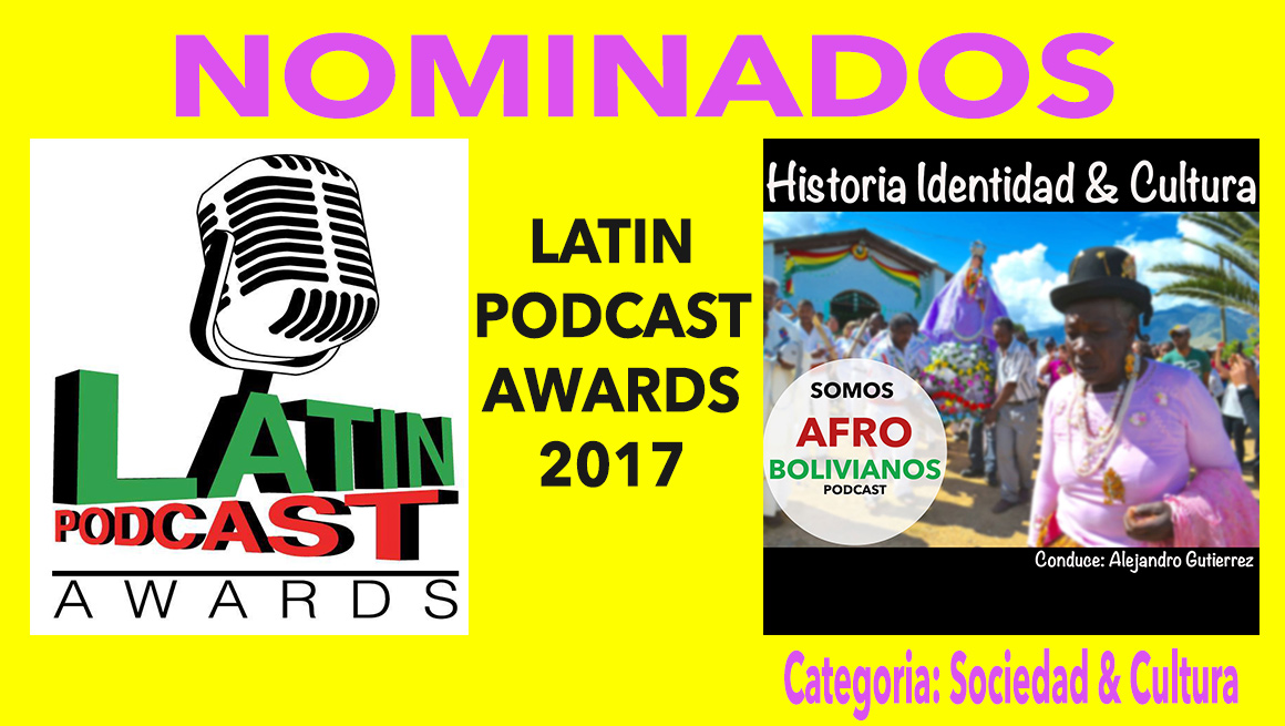 Nominados al Latin Podcast Awards 2017