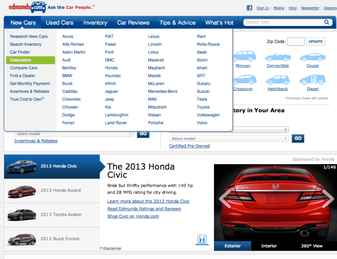 edmunds car websites