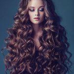Blochează fierul pe păr sub talie