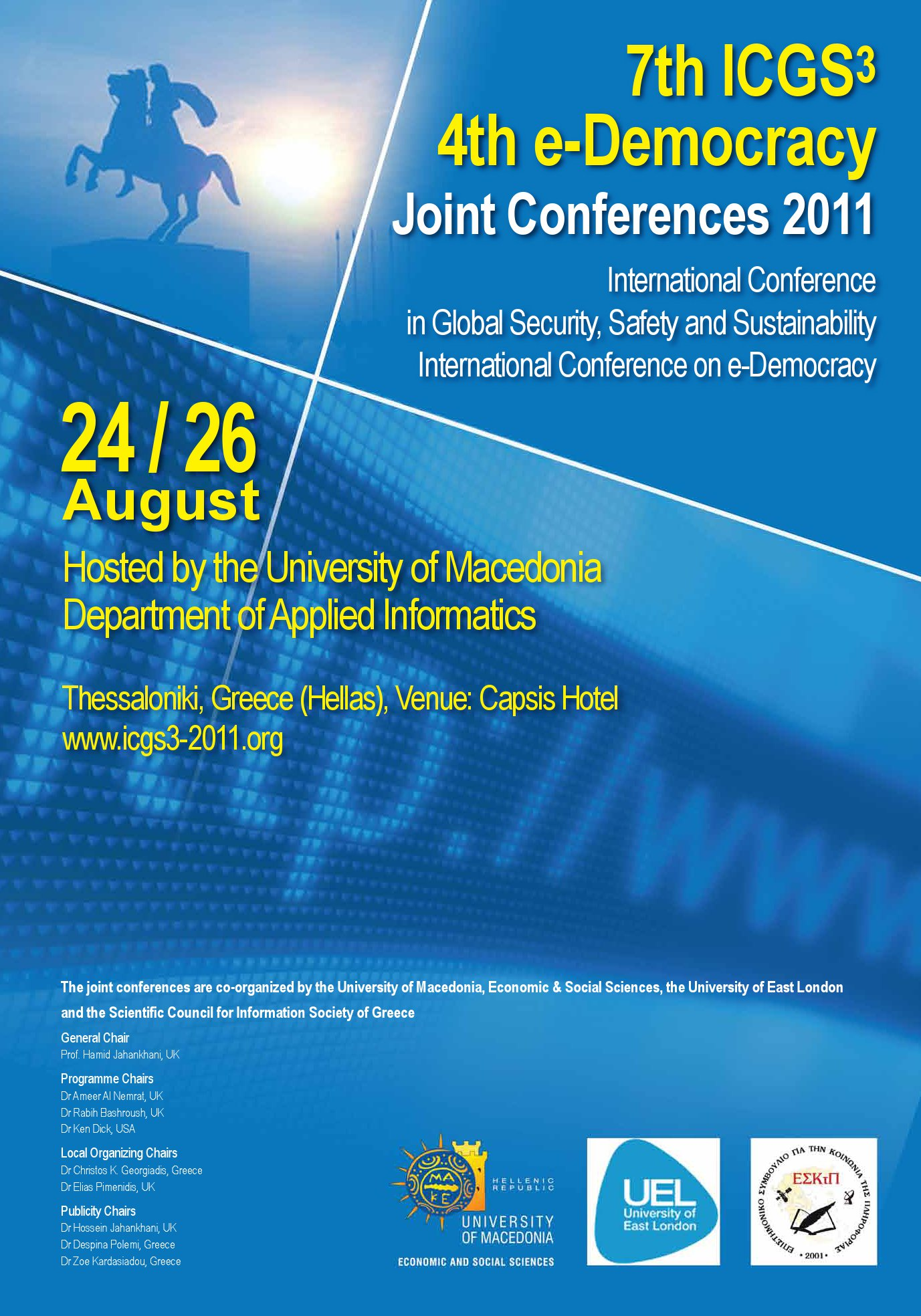 7th ICGS3  4th eDemocracy Joint Conferences