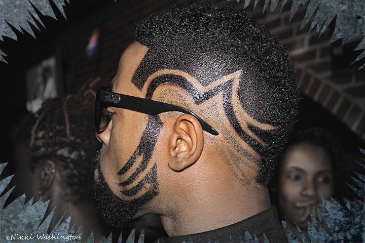 creative hair design men