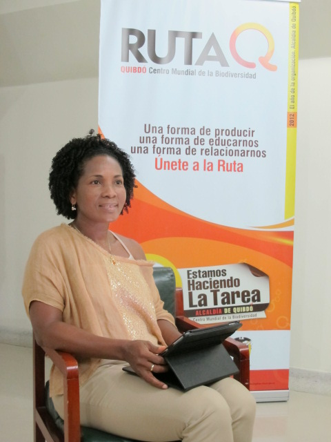 Zulia Mena. Alcaldesa de Quibdó en el Chocó colombiano.