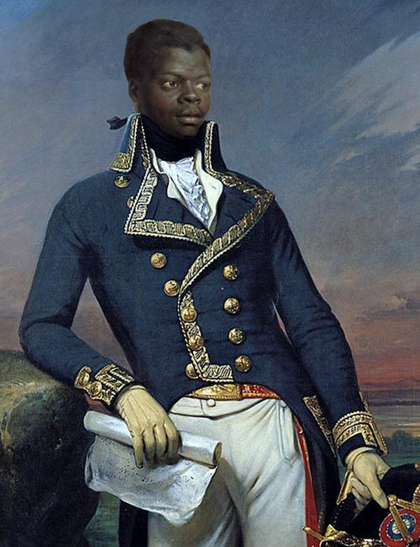 Francois Toussaint-Loverture, líder de la Revolución Haitiana y Padre Fundador de la Patria