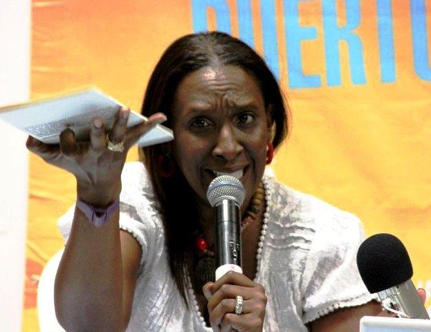 Mayra Santos-Febres en el Festival de La Palabra