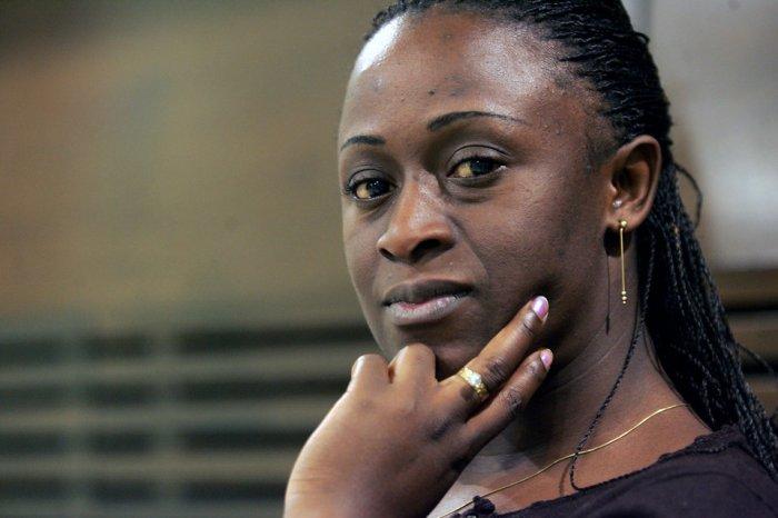 La periodista Caddy Adzuba, Premio Príncipe de Asturias de la Concordia que participo también en el evento
