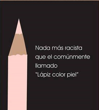 NADA MAS RACISTA