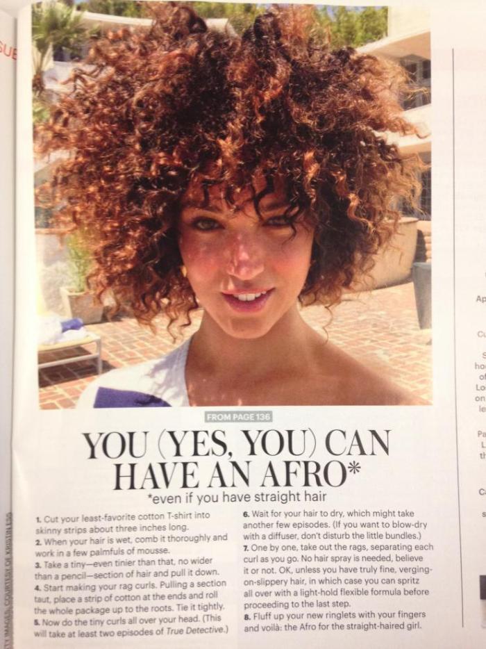 Artículo Allure Magazine