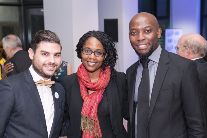 Reception to celebrate the successes of malaria under the MDGs and the achievements of the RBM Partnership, held in New York City on 19 November, 2015.
