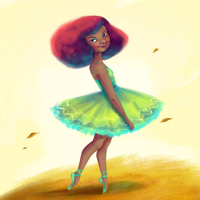 ilustración_Afrofeminas_lidiaMbá