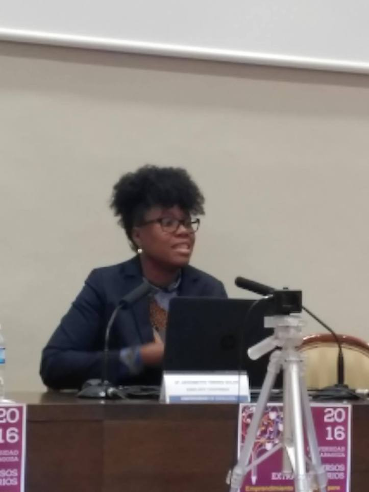 Taller Afroféminas en Universidad de Zaragoza