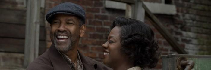 En 'Fences' Viola trabaja junto a un inmenso Denzel Washington