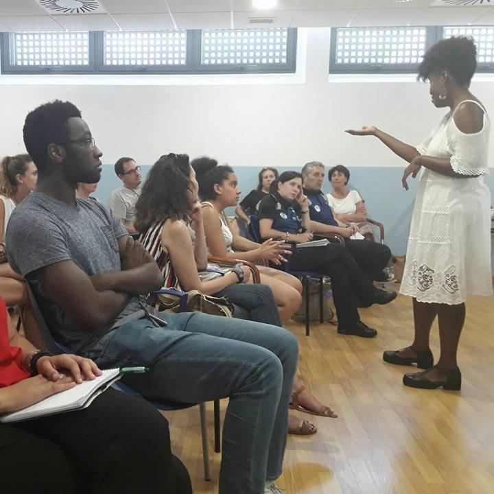 Taller Afroféminas Alianzas contra el Racismo