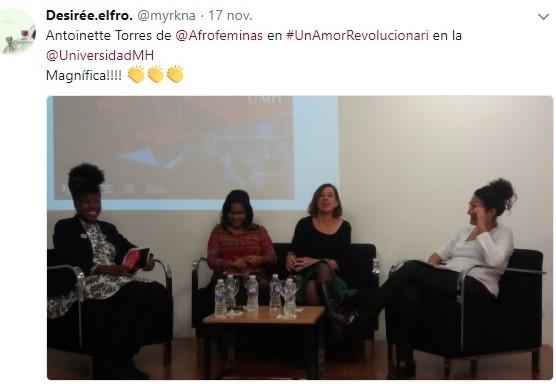 Talleres Presenciales Afroféminas