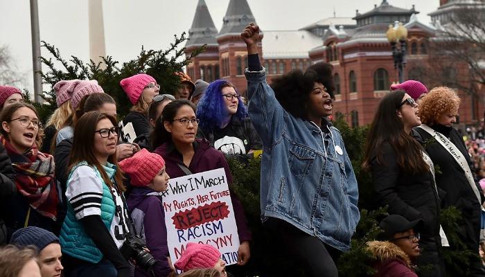 Guía para una joven negra. Comenzar en el feminismo sin la mierda racista17 in Washington, DC.