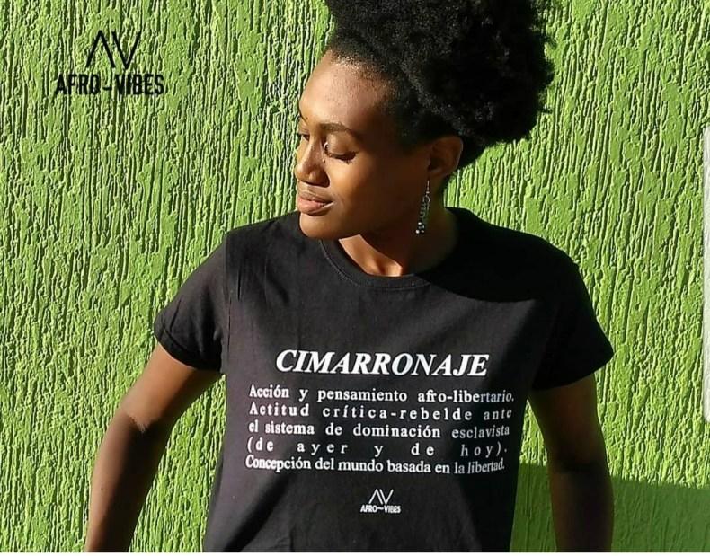 """""""Queremos que la gente se vista de resistencia afro sin tener que abrir la boca"""". Marian Valolles creadora de Afro Vibes"""