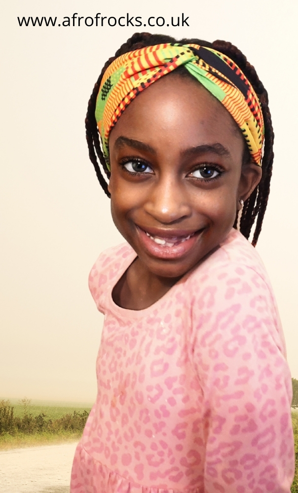 Kids African Print Headbands