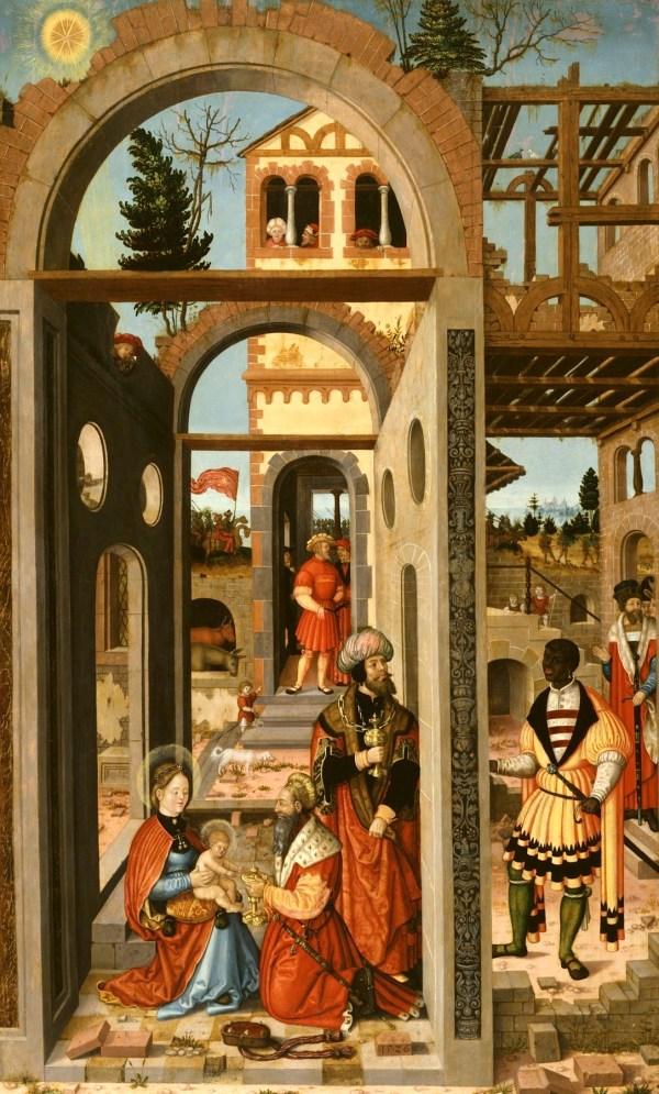 Adoration Of Three Kings Africans In Medieval German Art