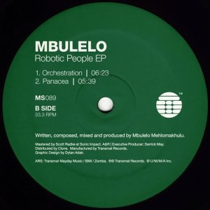 Mbulelo - The Robotic People EP