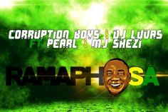 DJ LUVAS, Corruption Boys & Pearl - Ramaphosa (feat. Mj Shezi) - gqom music, gqom music 2018, new gqom songs, gqom music download, south africa gqom music