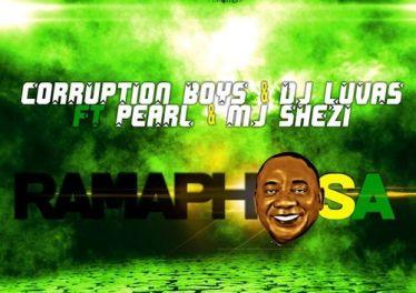 DJ LUVAS, Corruption Boys & Pearl - Ramaphosa (feat. Mj Shezi) - gqom music, gqom music 2018, new gqom songs, gqom music download, south africa gqom music