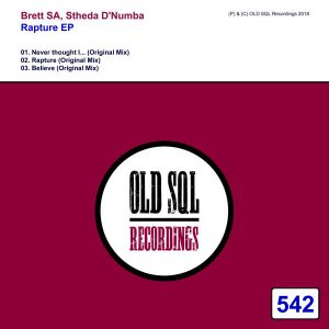 Brett SA & Stheda D'Numba - Rapture EP - Stheda D'Numba - Believe (Original Mix)