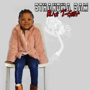 Black T-Shirt - Sthandwa Sam ALBUM, new south african music, house music download, south africa house music, musicas da africa do sul.