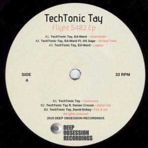 TechTonic Tay, Ed-Ward - Legacy (Original Mix), deep house music, deep house sounds, new deep house music, sa deep house, deep house 2019, house music download, mp3 download free, south african house music