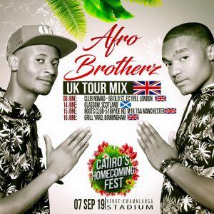 Afro Brotherz - UK Tour Mix, AFROMIX, dj live mix, afro house mixes