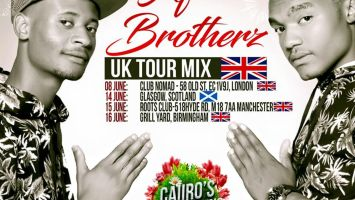 Afro Brotherz - UK Tour Mix