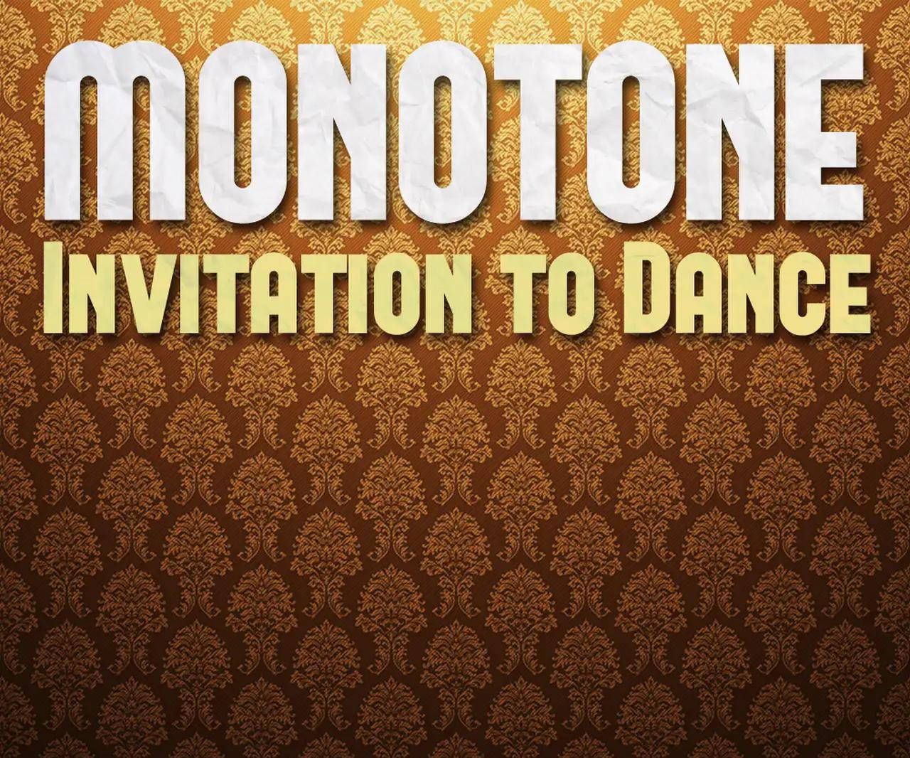 Monotone Ruby Gold Invitation Dance - Monotone Ft. Ruby Gold – Invitation Dance (Benediction's Dub Remix)