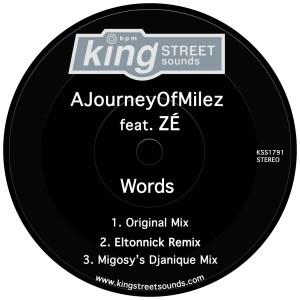 AJourneyOfMilez feat. ZÉ - Words (Original Mix)