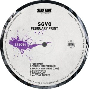 SGVO - Februaryprint EP