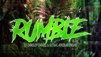 Dj Damiloy Daniel & Ritual Afrikan Drums - Rumble (Afro Tech)
