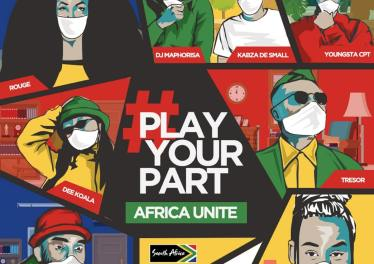 DJ Maphorisa, Kabza De Small, Sha Sha, Rouge, Tresor, YoungstaCPT, Riky Rick & Dee Koala - Play Your Part (Africa Unite Single)